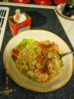 Peanut Butter and Jelly Chicken Stew, a slow cooker recipe