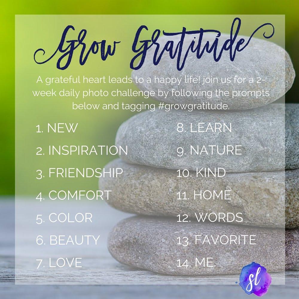 #growgratitude