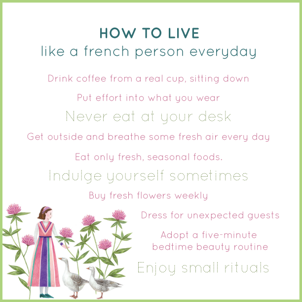 How to Live Like French Person