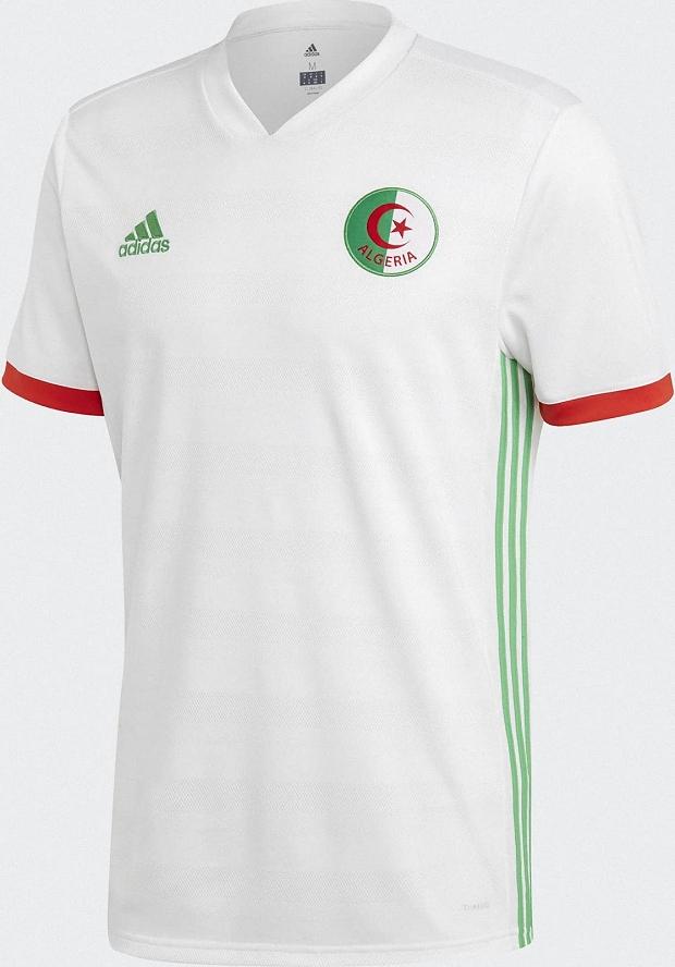 Adidas lança a nova camisa titular da Argélia - Show de Camisas f0774426e709d