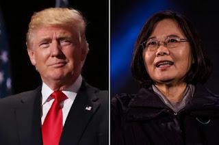 Donald Trump - Tsai Ing-wen