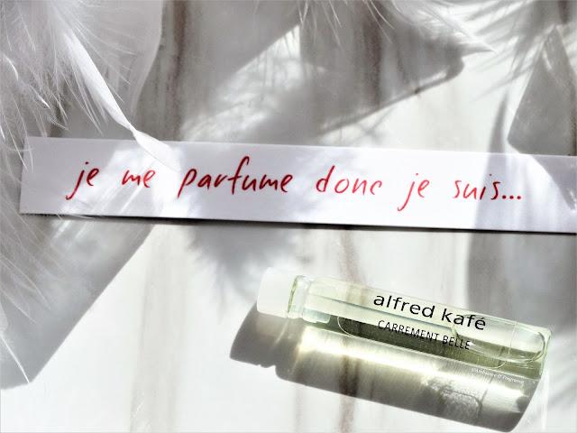 avis Alfred Kafé de Carrément Belle, parfum femme, parfum homme, blog parfum, avis parfum, perfume review