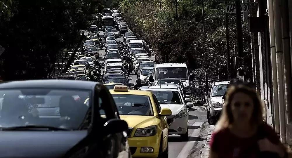 Απεργία συμμοριτών : Χωρίς ΜΜΜ η Αθήνα – Μετ' εμποδίων οι μετακινήσεις