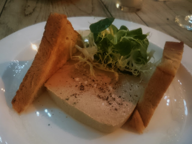 Goose liver parfait at The Jolly Poacher pub in Brighton