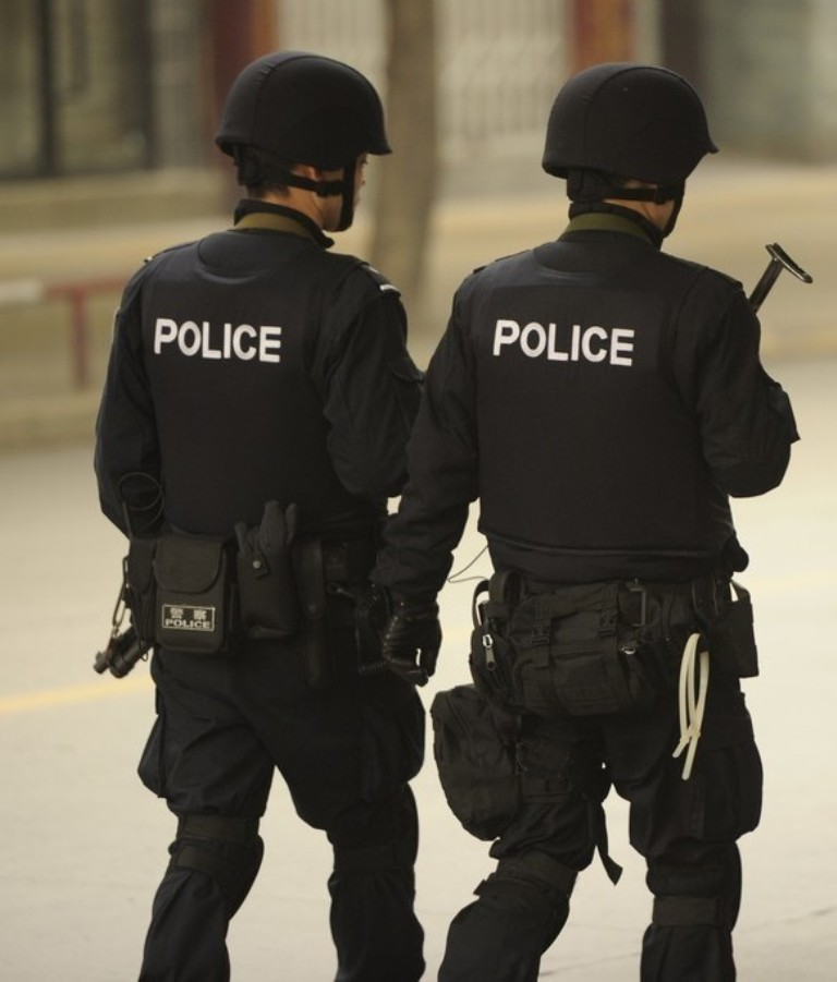China Police: Chinese People's Armed Police Force (CAPF) Units In