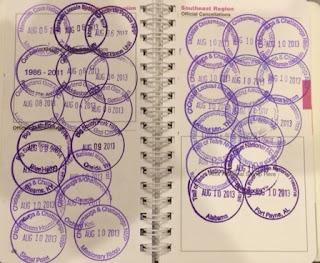National Park Passport Stamps