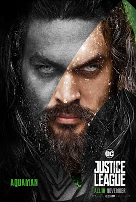 "Justice League ""Secret Identity"" Character Movie Poster Set"