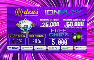 Rahasia Menang Judi Poker Online QDewi.net