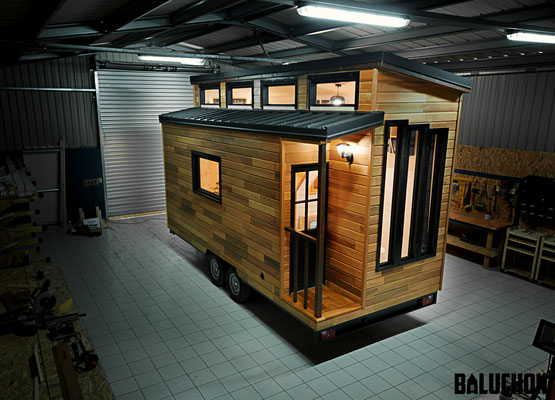 Escapade tiny house by Baluchon