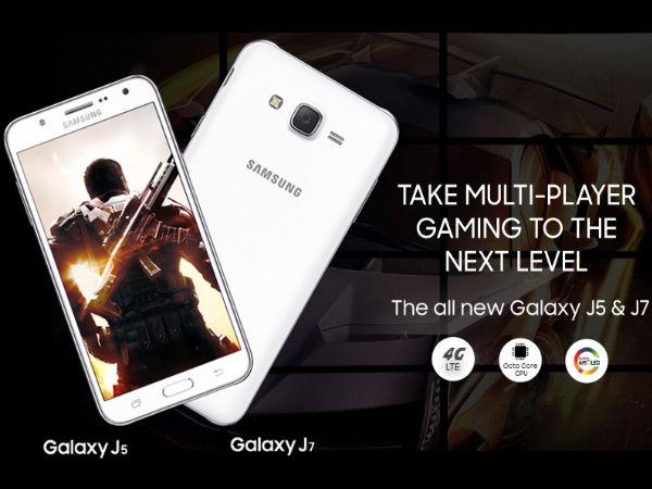 Galaxy J5 & J7