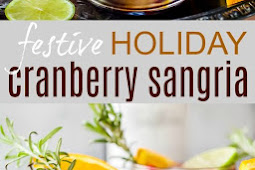 Easy Festive Holiday Cranberry Sangria Recipe
