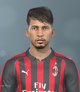 PES 2019 FacesLucas Paquetá by Lucas Facemaker