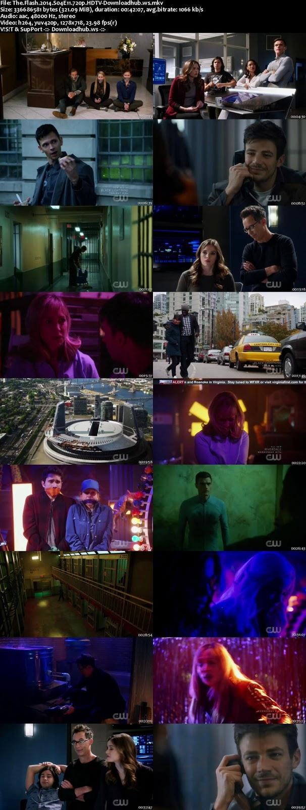 The Flash S04E11 320MB HDTV 720p x264