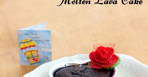 Give Recipe Molten Chocolate Lava Cake
