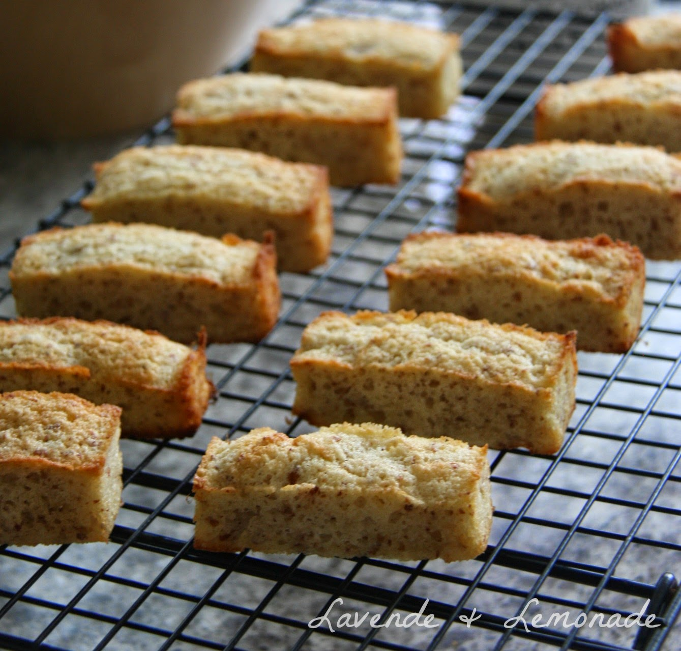 Amazingly Delicious! French Financier Almond Cakes by Lavende & Lemonade