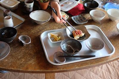 生坂 中川ひとみ・月日工房 お茶漬けなどに使う茶碗、器の選定