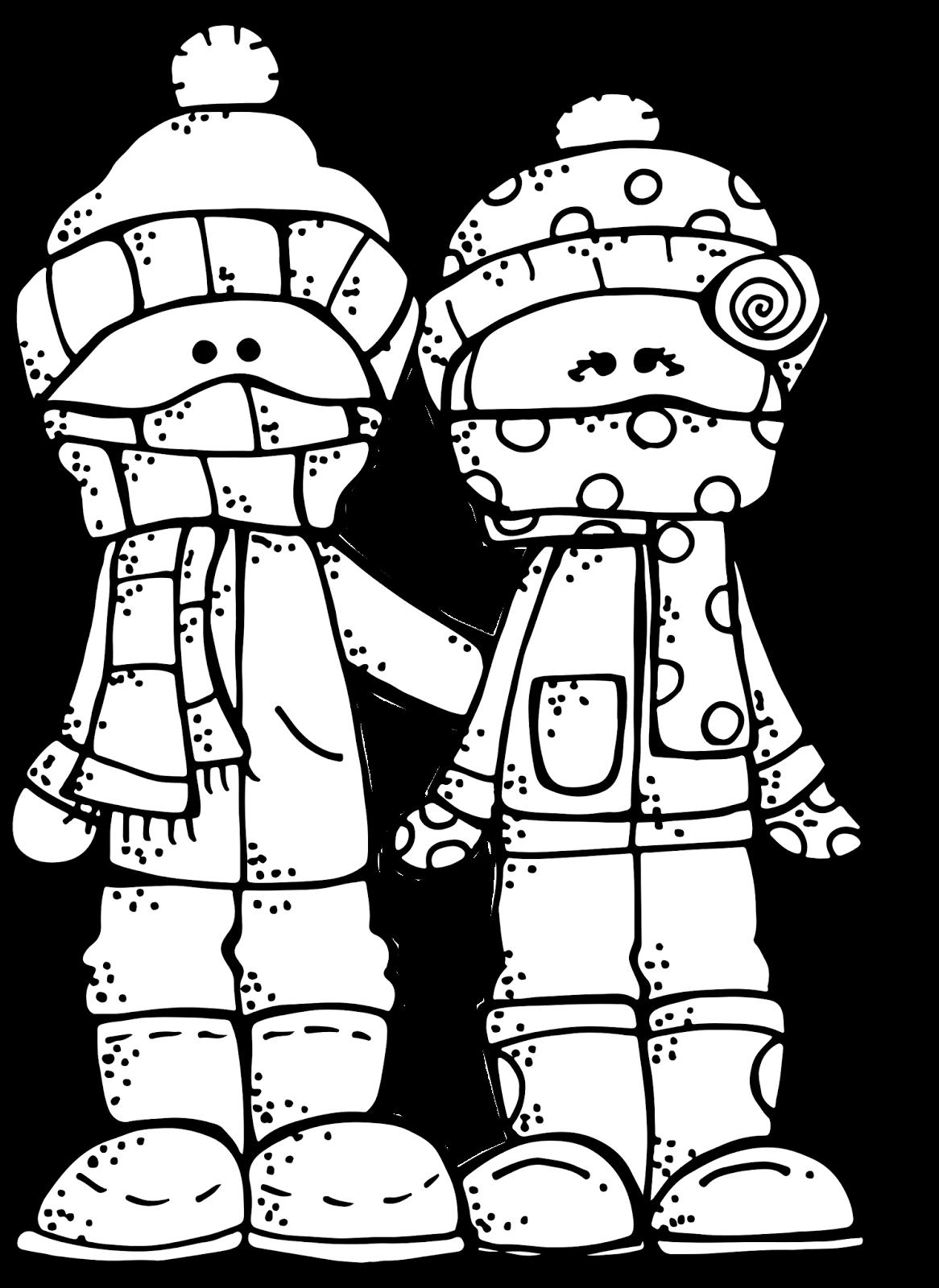 Melonheadz LDS illustrating: Winter Freebie :)