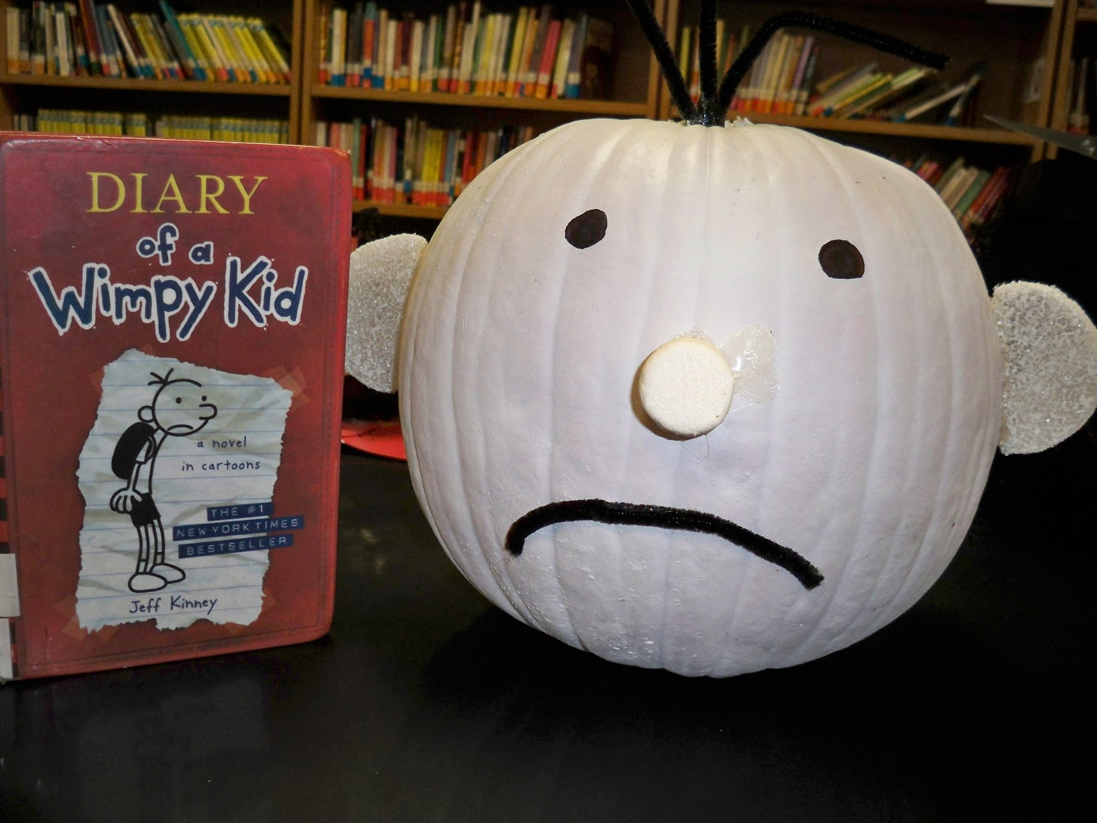 Hces Library Pumpkin Character Contest