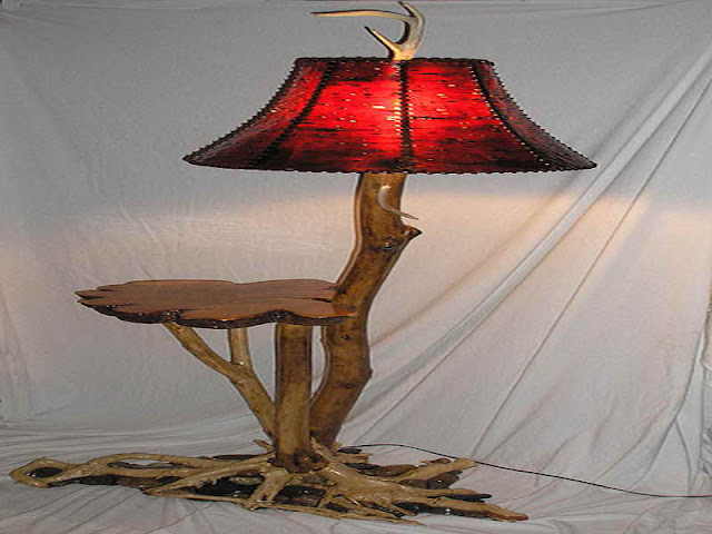 Wooden Lamps and Wooden Lamp Shades Wooden Lamps and Wooden Lamp Shades Floor Lamp with Shelves with natural wood material