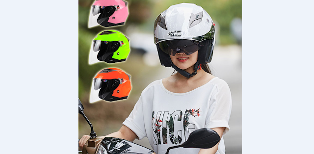 Sharing Pengalaman Pakai Helm Double Visor
