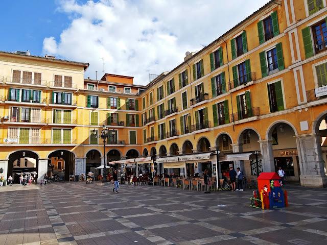 centrum stolicy Majorki Palma de Mallorca