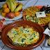 مائدة عشاء صحية خفيفة اقتصادية وسهلة/طاجين بالخضر/خضر مشوية في الفرن