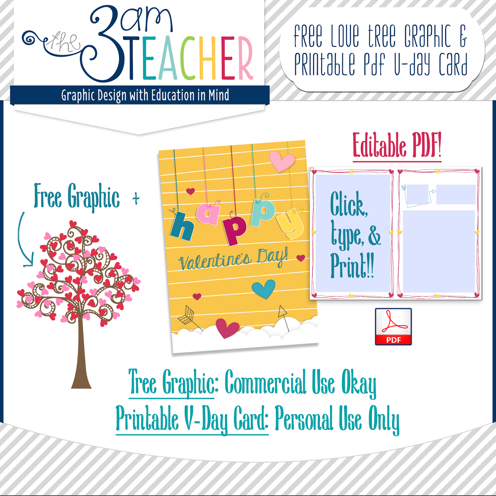 The 3am Teacher: A Free Valentine's Day Gift : Clipart