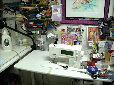 Sewing Machine area