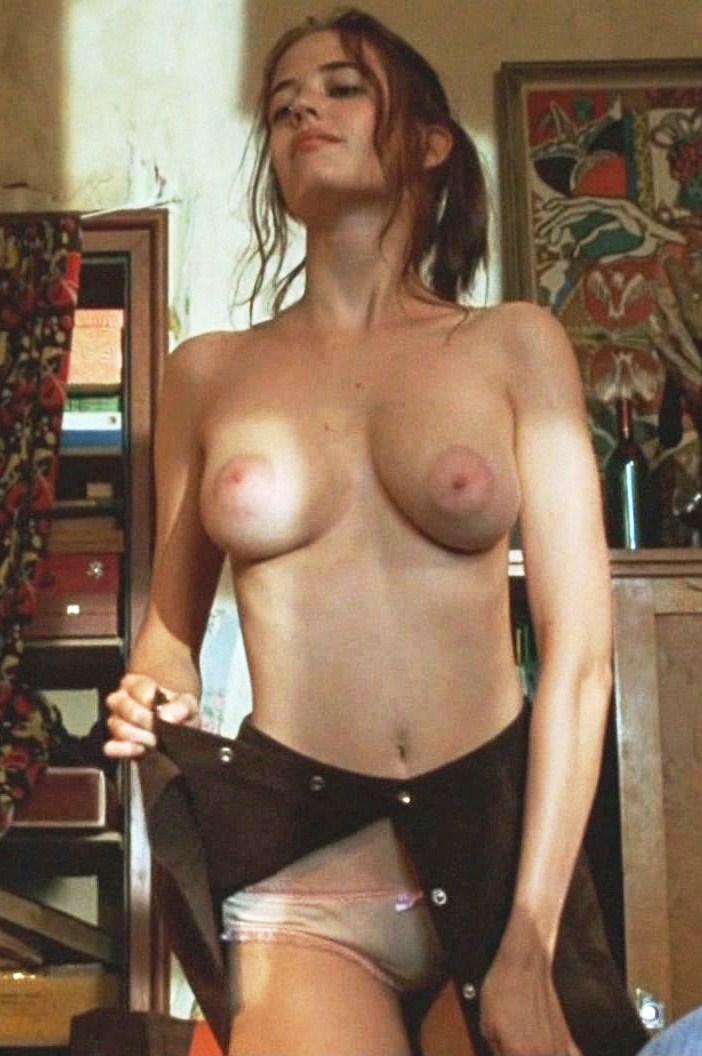 Naked women in silky panties