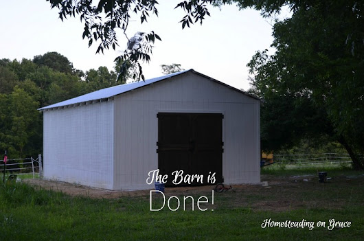 Ding Dong The Barn is DONE!