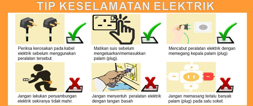 Tips Keselamatan Elektrik