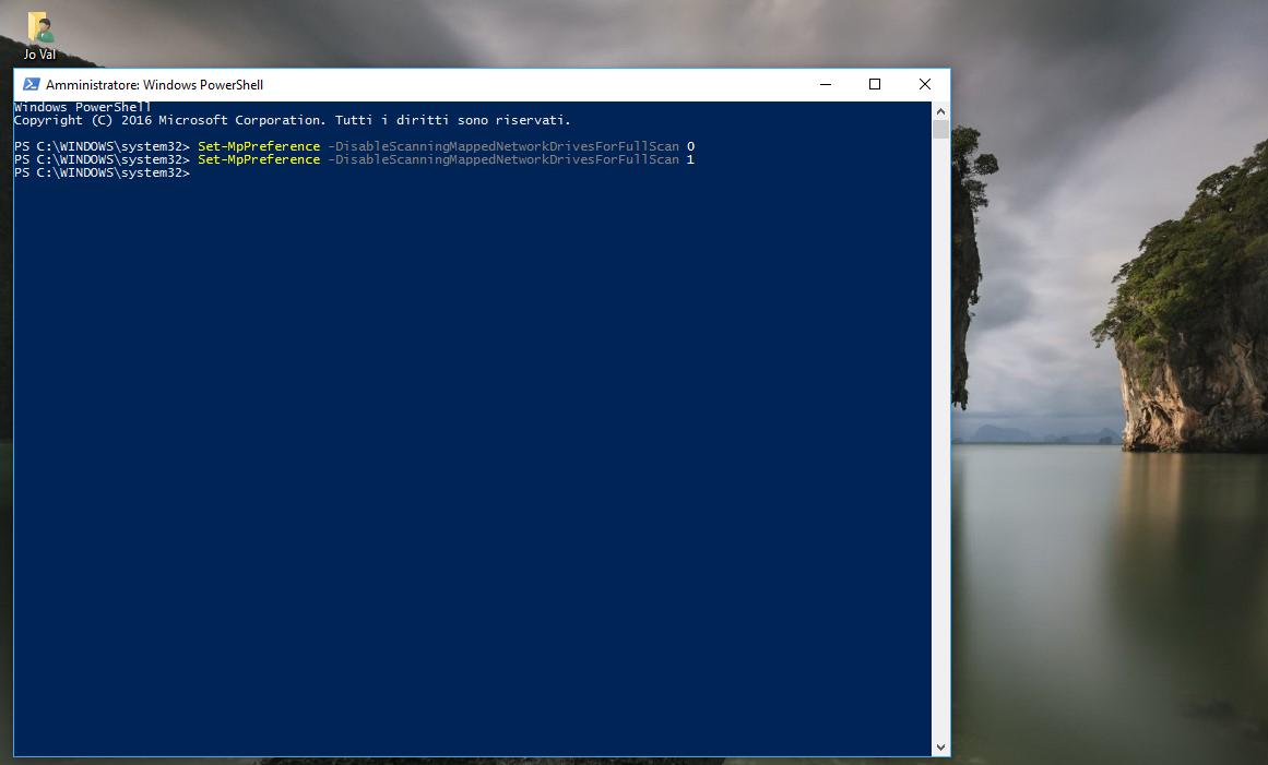 Come abilitare la Scansione dell'Unità di Rete con Windows Defender in Windows 10 6 HTNovo