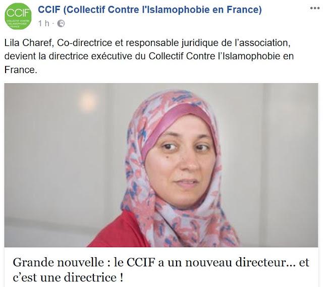Le CCIF a une nouvelle directrice, Lila Charef