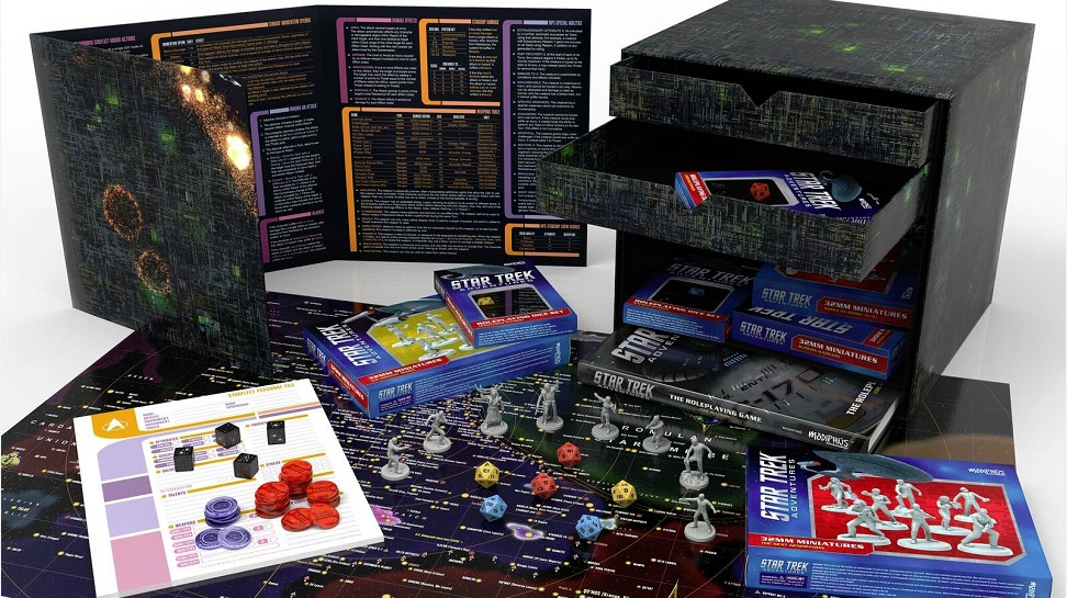 Star Trek RPG Borg Cube