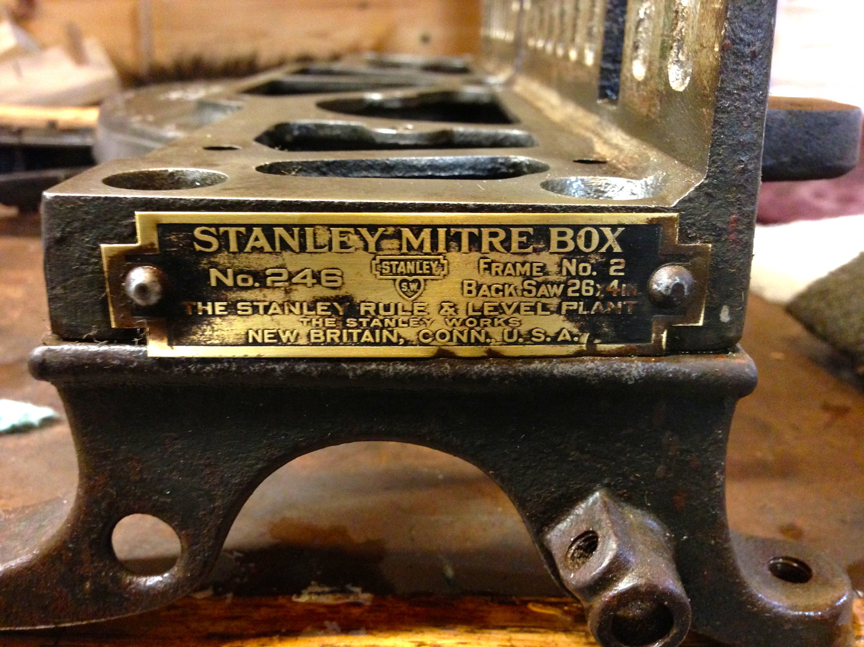 Stanley Miter Box 2358a