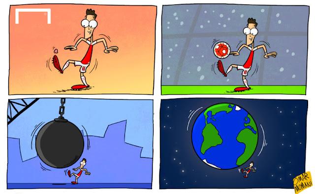 Ozil Cartoon