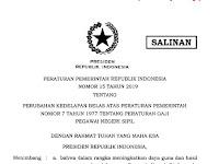 Dibayarkan April, Cek Daftar Lengkap Gaji PNS, TNI & Polri Serta Pensiunan Tahun 2019 Pasca Kenaikan