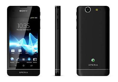 Sony Xperia SX hitam