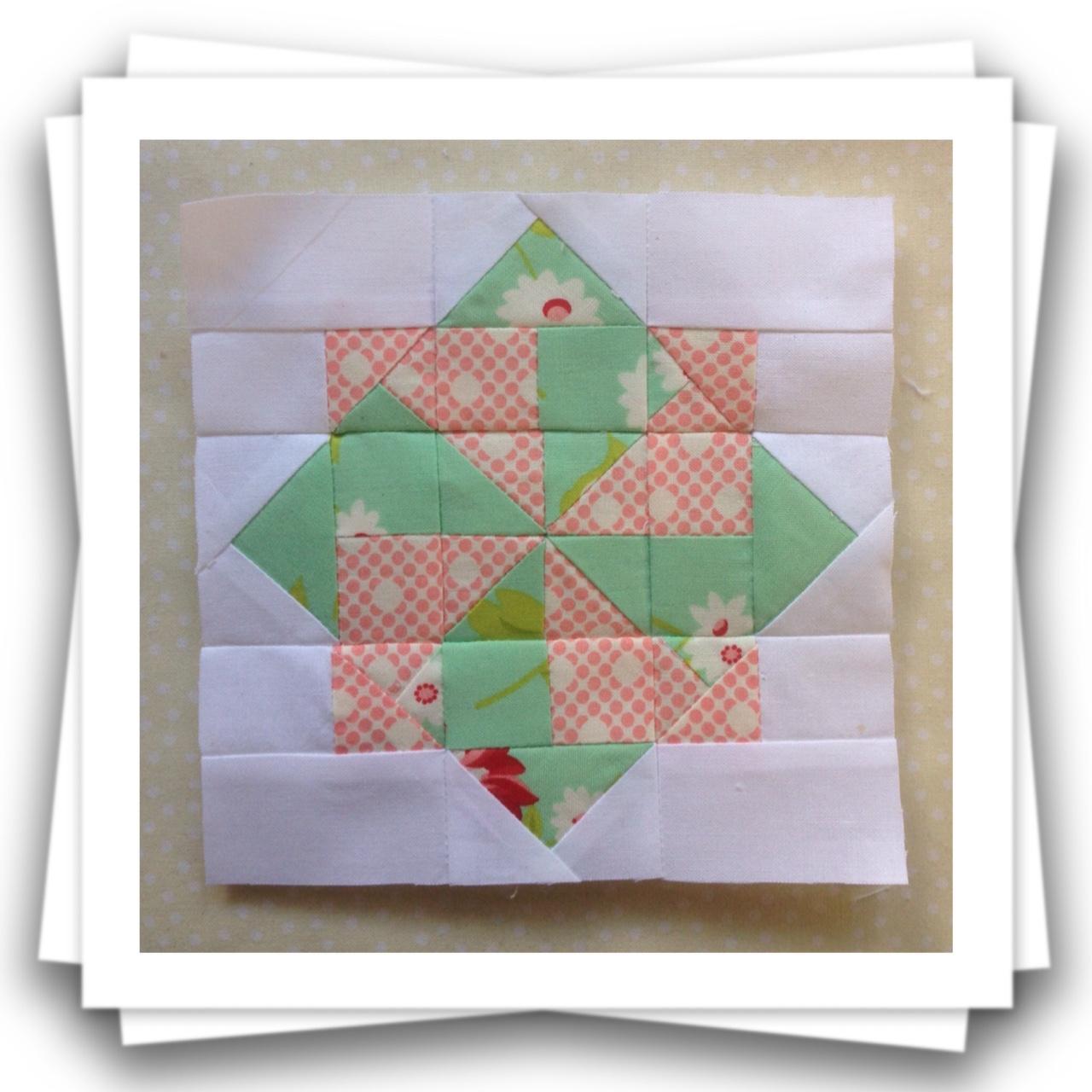 Threadbare Creations: Chatelaine- Free BOW Sampler Quilt Block 74