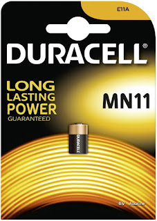 batteria duracell mn11