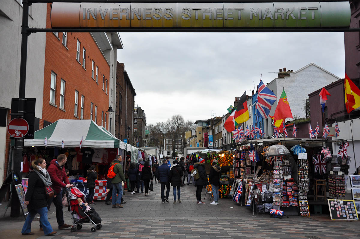 Inverness Street Market, Camden Town, London, England