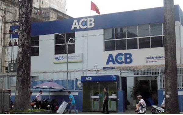 Một chi nhánh ngân hàng ACB