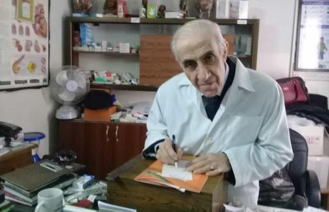 أبا الفقراءد. إحسان عز الدين,طبيب سوري يرفع سعر معاينته من 50 إلى 100 ليرة فقط!!!