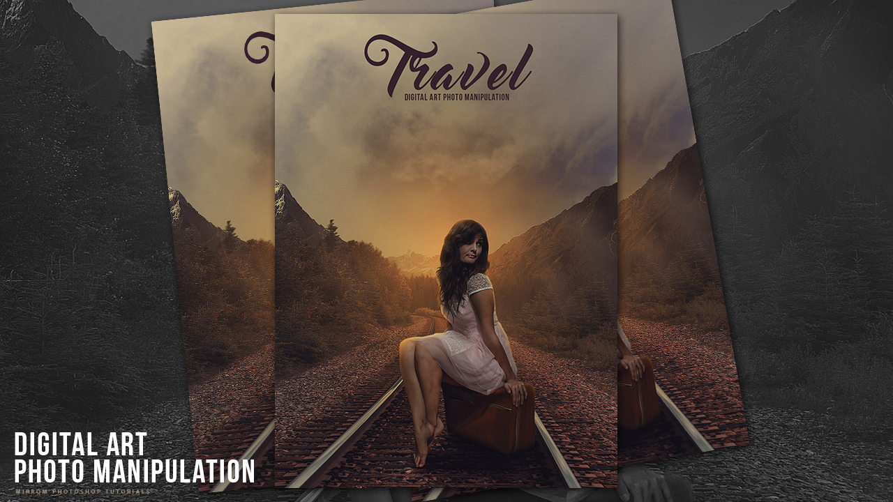 Travel Photo Manipulation Effects Photoshop Tutorial