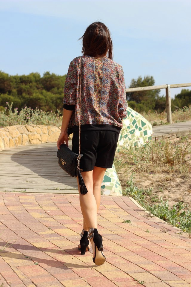Outfit 2015 - Verano 2015 Tendencias- Crop top - Sheinside - Fashion blogger - Streetstyle