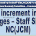 Ensure minimum 3% Increment in all stages : Staff Side, NC(JCM)
