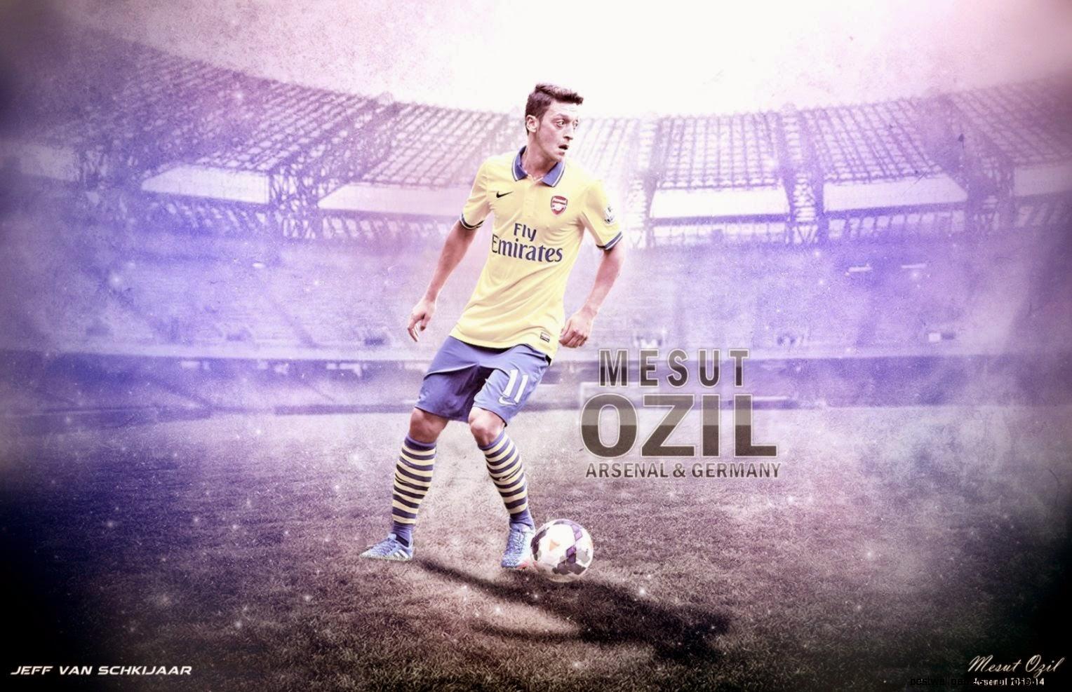 Mesut Ozil Arsenal Hd Wallpaper