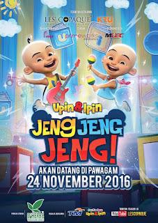 Download Film Upin dan Ipin Jeng Jeng Jeng (2016) WEB-DL Full Movie Sub Indo