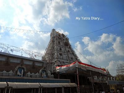 Shree VenkateshwaraTirupati Balaji Temple - Andhra Pradesh