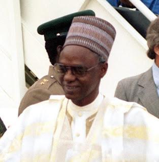 Shehu Shagari Buried In Sokoto